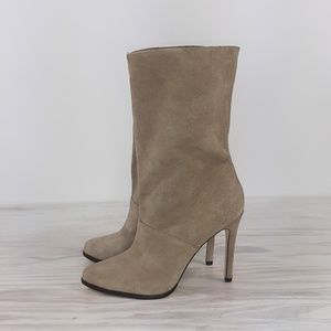 BCBGeneration Pointy Suede Heeled Boots Size 7.5